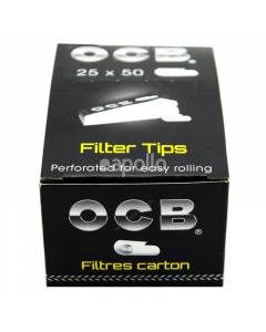 OCB Premium Perforated Roach Filter Tips
