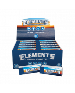 Elements Premium Rolling Paper Filter Tips Booklet