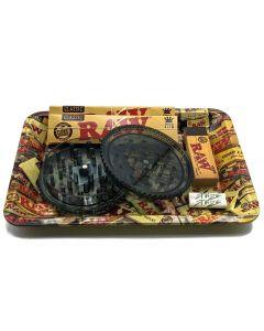 RAW Starter Tray Gift Set 1 - Small Medium - 7 Items