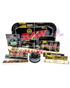 RAW Black Tray Starter Set