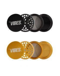 VIBES X Aerospaced 4-Piece Herb Grinder