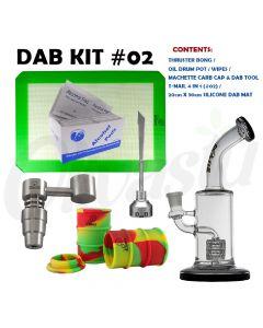 Bounce! Dab Lab Genie Thruster Dabbing Gift Set Kit - 6 Items